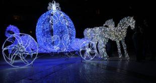 В Липецк прибыла новогодняя карета