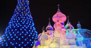 С Новым годом! Любимая наша страна Россия!