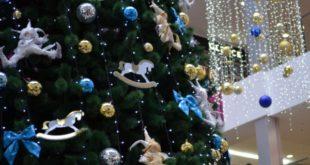 Новогодние праздники в ТРЦ Европа (26 декабря - 3 января)