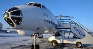 Аэропорт Липецка возобновил работу после снегопада