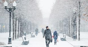 К выходным морозы в Липецкой области ослабеют