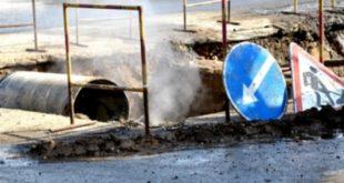 Порыв холодного водоснабжения между проспектом Победы и ул.Гоголя