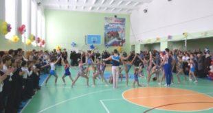 В сельской школе открыли современный спортзал