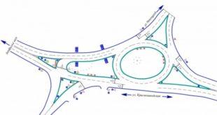 Кольцо в районе ЛТЗ стало главной дорогой