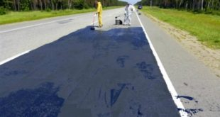 Новый материал для ремонта дорог используют в Липецкой области