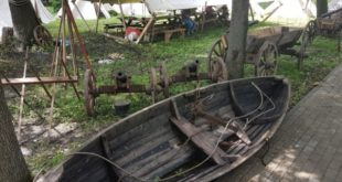 В Нижнем парке идет подготовка к открытию «Липецкого городища»