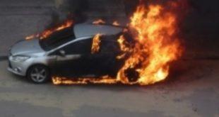 «Форд» сгорел вДобровском районе