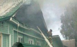 Два дома сгорели в Липецкой области
