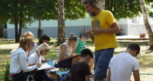 Пленэр для юных художников проходит в регионе