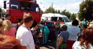 Полицейские начали проверку после ДТП с«Рено» ипожарной машиной