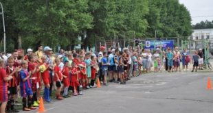 Единороссы приняли участие в мероприятиях Дня физкультурника