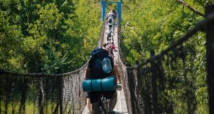 Липчане проехали 120 километров на велосипедах по красивейшим местам области (фото, видео)