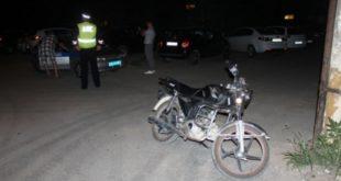 Пьяный липчанин разъезжал на мопеде по городу без прав и документов