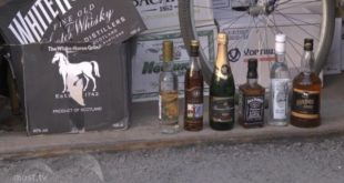 Продавщица киоска торговала суррогатным алкоголем