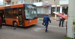 Автобусное ДТП произошло вЕльце
