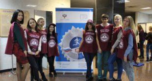 Липецкие студенты  сдавали нормативы  ГТО и провели флешмоб