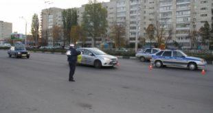 Часть дороги в Липецке перекрыли для проверки автолюбителей