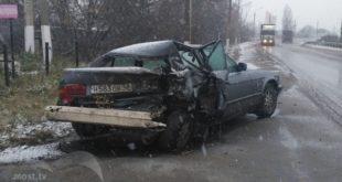 Водитель «БМВ» рассказал, как его таранил «КАМАЗ» (видео)