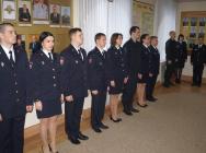 В Липецке полицейские приняли присягу