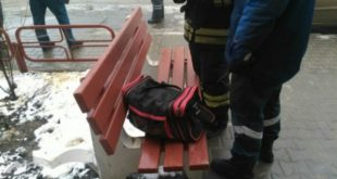 Подозрительная сумка вызвала переполох наулице Теперика (фото, видео)