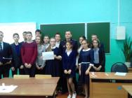 В школах Становлянского района прошел открытый урок, посвященный Дню борьбы с коррупцией