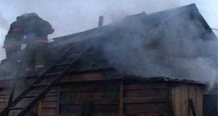 В Липецкой области в пожаре пострадал человек