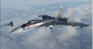 Минобороны России опубликовало видео полетов сдозаправкой ввоздухе над Липецком