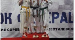 Грязинские каратисты заняли призовые места на всероссийских соревнованиях