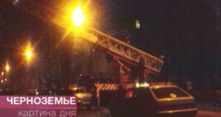 Жильцов общежития эвакуировали из-за пожара