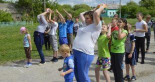 Усманские семьи поучаствовали в спортивных конкурсах