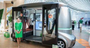 Беспилотные автобусы будут тестировать в Липецке