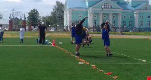 В Усмани прошли соревнования по русской лапте