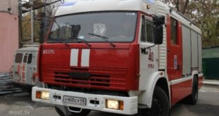 ВЛипецкой области горела пилорама
