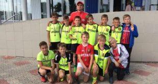 Грязинские мальчишки стали серебряными призерами «Кожаного мяча»