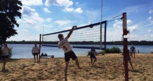 Завершился первый этап чемпионата области по пляжному волейболу