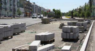 В Липецке у дорожных работников крадут стройматериалы: бордюры и плитку