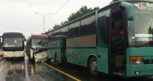 Два автобуса с пассажирами попали в ДТП по вине водителей