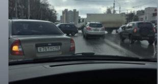 В районе Центрального рынка погасли светофоры