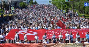 Как пройдет 9 мая в Липецке: граффити на заборе, парад и «Бессмертный полк»