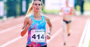 Елена Коробкина выиграла забег на 10 км Московского полумарафона