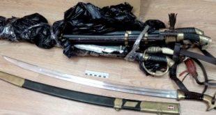 Липчанин в своей квартире хранил коллекцию старинного оружия (ВИДЕО)