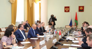 Игорь Артамонов определил сферы сотрудничества с белорусами