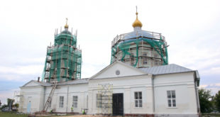 Старинный храм  восстанавливают в Липецкой области