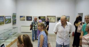 Выставка работ молодёжного пленэра открылась в Липецке