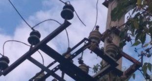 Быханов сад остался без света из-за обрыва проводов ЛЭП