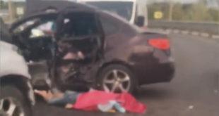 Человек погиб в ДТП на улице Механизаторов (видео)