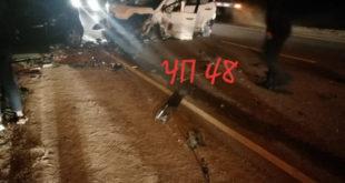 В Липецке водитель скрылся с места ДТП (видео)