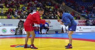 Иван Агафонов завоевал «золото» первенства мира по самбо (видео)