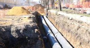 Больше километра инженерных сетей уже заменили на проспекте Победы