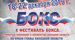 Фестиваль бокса стартовал в Липецке
